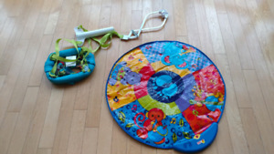 Safety 1st baby jumper with Jolly musical mat combo