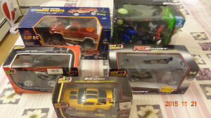 Brand New Remote-Controlled Cars, Robots, Trucks