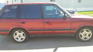1996 Land Rover Range Rover Red SUV, Crossover