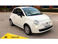 2014 Fiat 500 1.2 Pop (Start Stop) Qualifies Manual Petrol Hatchback