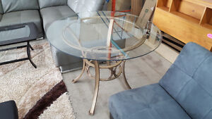 Glass table - Delivery Available