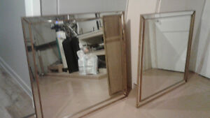 2 Antique  Mirror  120 each or both for 200.00