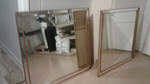 2 Antique  Mirror  100.00 each Gatineau Ottawa / Gatineau Area image 1