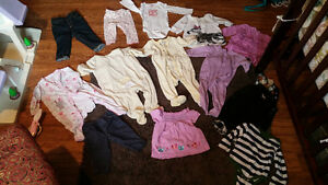 clothing pieces 6-12 months