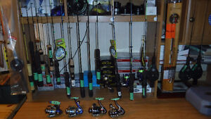 ICE FISHING RODS - REELS AND ICE FISHING LURES
