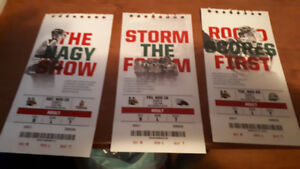 Halifax Mooseheads Season Ticket for Nov 10, 16, 20 for Sale