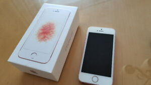 Téléphone iphone 5se Or rose 16gigs Rogers
