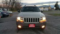 2004 JEEP GRAND CHEROKEE 4X4 SUV *** CLEAN / CERTIFIED *** $4995