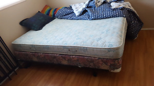 Queen bed for sale want gone!
