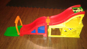 Folding car race track (cars not included)