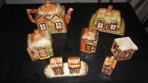1940's Price Bros. Made in England,14 Pc. Cottageware Set