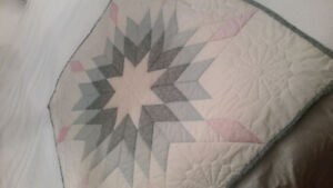 """38"""" x 38"""" quilt wall hanging"""