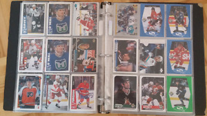 150 cartes de hockey