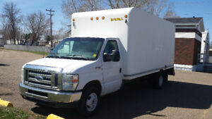2010 Ford E-450 Series Cube Van. Diesel  Only 128k