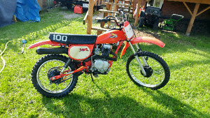 1982  Honda xr 100 Amazing shape