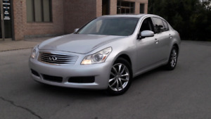 2008 INFINITI G35X  ALL  WHEEL DRIVE CERTIFIED.