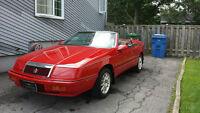 1991 Chrysler Lebaron Décapotable Berline