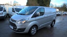 Ford Transit Custom Limited with Poly Shield Conversion