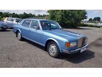 Rolls-Royce Silver Spirit 6.8 V8 (X Wedding car) A Very Nice Car (blue) 1986