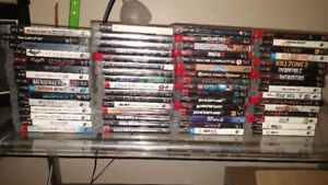 PS3 + 61 GAMES + 1 CONTROLLER // PS2 +11 GAMES+ trade for PS4