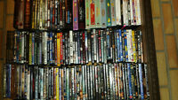 300+ dvds collections
