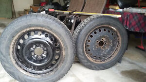 17 winter tire and rim package London Ontario image 1