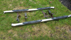 2005 Acura MDX Stainless Steel Step Bars