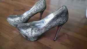 Snake skin look club couture size 10