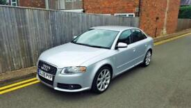 Audi A4 2.0 TDI S LINE 2005 SILVER ONLY 42,000 MILES LAST OWNER FOR 9 YEARS