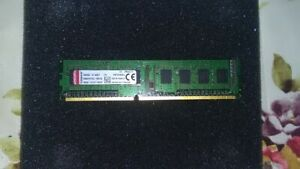 1x 4GB Kingston Desktop Ram Memory DDR3 = $20