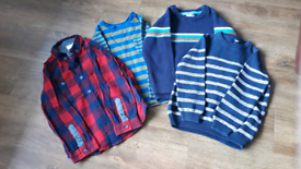 4 Boys Tops. Age 4-5 years