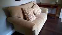 Almost new Couch , Love Seat and ottoman