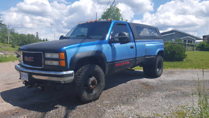 1997 GMC 3500 SingleCab 454 dually Certified