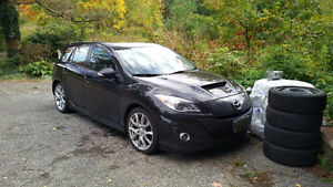 2010 Mazda MAZDASPEED3 Tech Package Hatchback