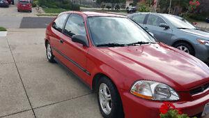 1998 Honda Civic Hatchback Coupe (2 door)