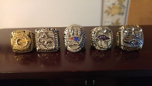nfl replica superbowl rings