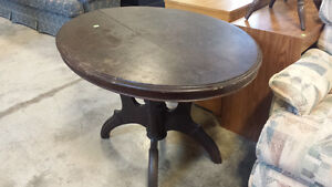 Antique Oval Table-- solid wood