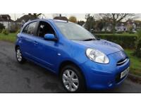 NISSAN MICRA ACENTA - 12 MONTHS MOT 2011 Manual 67888 Petrol Blue Petrol Manual