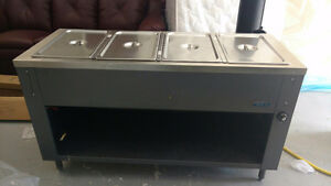60 inch propane hot food table