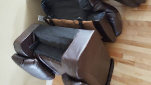 Couches (One & 3 seaters with recliner)