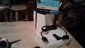 Never used car micro charger,for most Apple products, 10.00