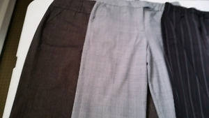 5 Dress pants size 14 , sweaters and tops L, XL, 1X All for