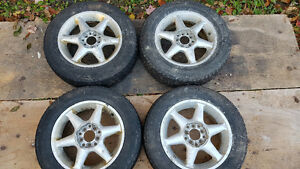 Alloy rims and Winter tires for sale