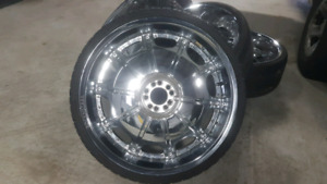 """24"""" rims and tires"""