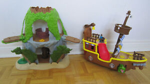 Fisher-Price Disney's Jake and The Never Land Pirates playsets