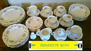 1/2 price today only! Tranquility China; flatware; Pooh china