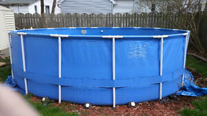 Above ground pools buy or sell a hot tub or pool in for Above ground pools quick set