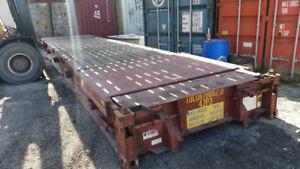 Flat Rack / Steel Container Bridge 20' & 40'