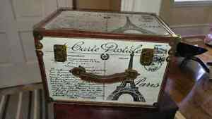 French Postcard Art Chest
