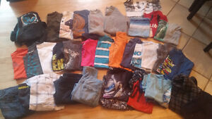 BOYS SIZE 12 T-Shirts, Sweaters, etc, and lots of jammies  - Th